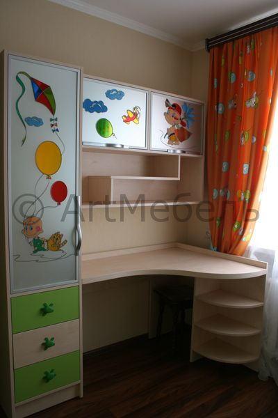 шкафчики в детскую