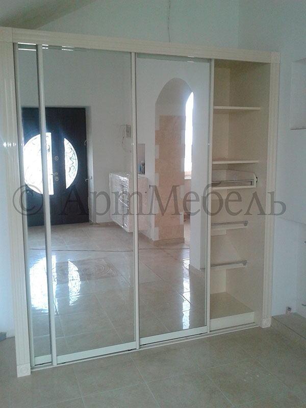 готовые шкафы, шкафы по индивидуальному проекту в Одессе