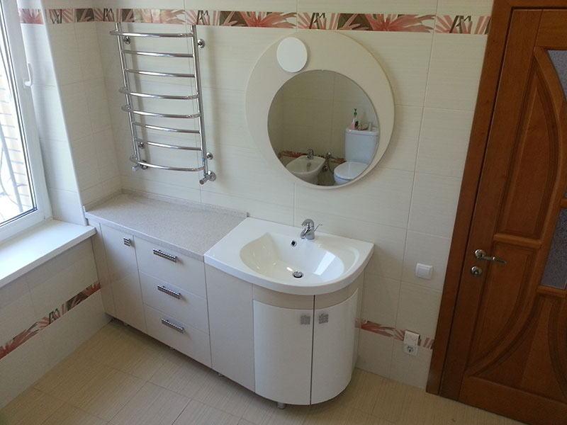 мебель для ванной заказать в Одессе Ильичевске