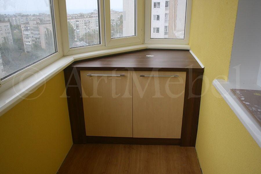 Мебль для лоджий и балконов - мебель на заказ в одессе и Чер.