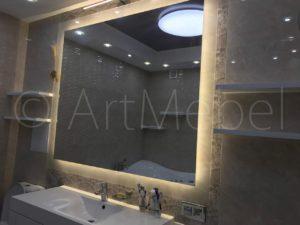меблировка ванной комнаты на заказ