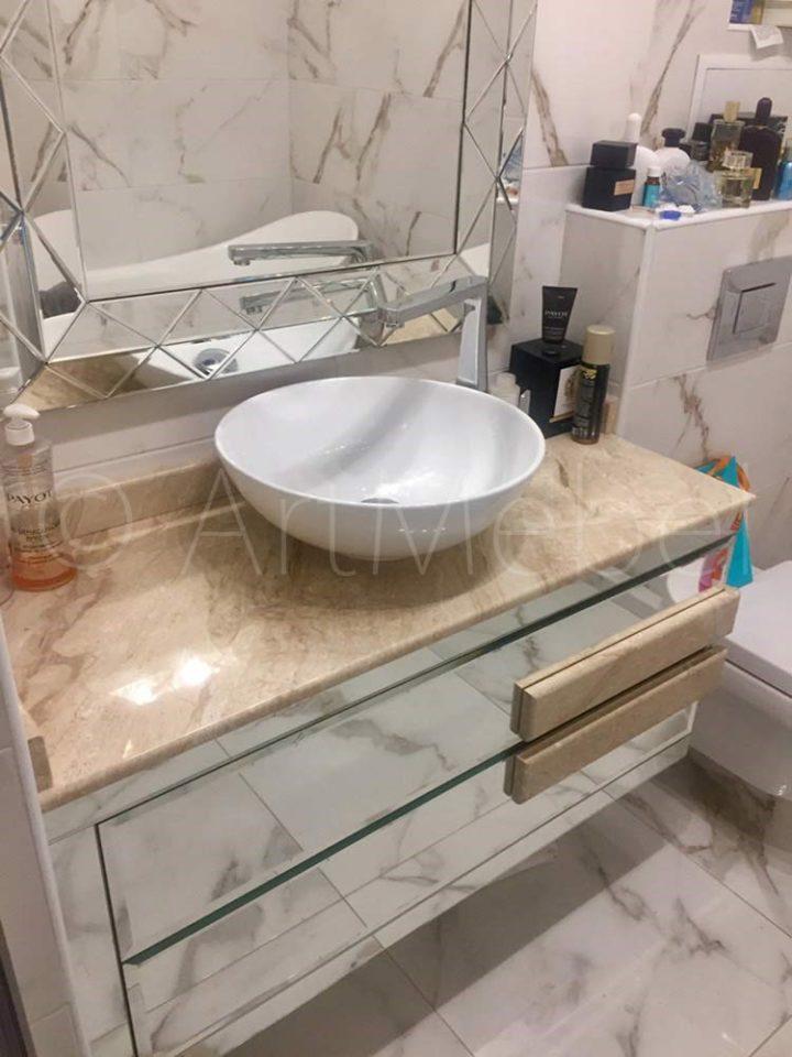 меблировка ванной