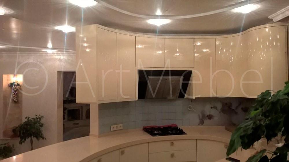 современная мебель в кухню