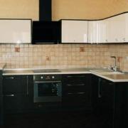 пастельные тона кухонной мебели