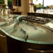 какими бывают кухонные столешницы